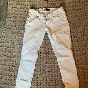 Levi white jeans